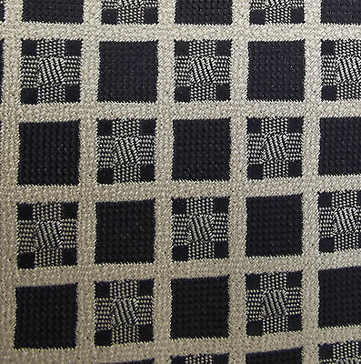 Charcoal and beige check tie by Debenhams Men's sober formal office wear